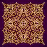 Aufwändiges Muster des Vektors im viktorianischen Stil Stockbild