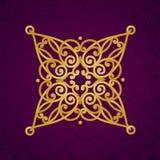 Aufwändiges Muster des Vektors im viktorianischen Stil Stockfotos