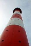 Aufwärts Ansicht eines Leuchtturmes Lizenzfreie Stockfotografie