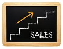 Aufwärts Verkaufsergebnis Lizenzfreie Stockfotos