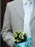 Aufwartung der Braut Lizenzfreie Stockfotos