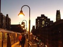 Aufwartung der Untergrundbahn Lizenzfreie Stockbilder