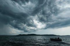 Aufwartung des Sturms Lizenzfreies Stockbild