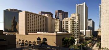 Aufwecken der Stadt von Phoenix stockfotos