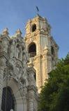 Aufwändiger Steeple-Auftrag Dolores San Francisco Lizenzfreie Stockfotografie