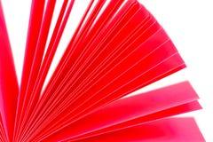 Aufzeichnungen des farbigen Papiers Lizenzfreie Stockbilder