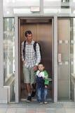 Aufzug oder levator Lizenzfreie Stockbilder