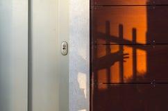 Aufzug und Schatten Stockfoto