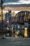 Aufzugs-Brücke Lizenzfreie Stockbilder