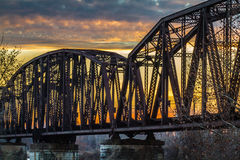 Aufzugs-Brücke Lizenzfreies Stockbild
