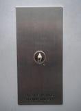 Aufzugs-Knopf oben Stockbilder