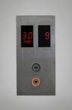 Aufzugsknöpfe Lizenzfreie Stockbilder