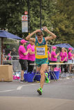 6 Aug `17 - London World Athletics Championships marathon:  Brad Milosevic Royalty Free Stock Photography