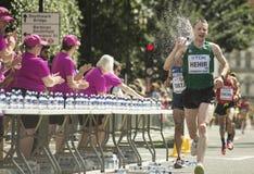 6 Aug `17 - London World Athletics Championships marathon:  Sean HEHIR Stock Photo