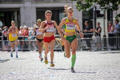 6 Aug `17 - London World Athletics Championships marathon:  Sean HEHIR Stock Image