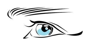 Auge lizenzfreie abbildung