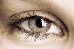 Auge Stockfoto