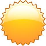Auge anaranjado del chapoteo nuevo stock de ilustración