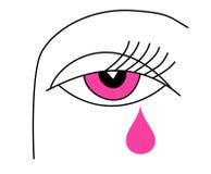 Auge der Frau Vektor Abbildung
