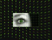 Auge der Matrix Stockfotografie