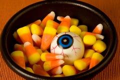 Auge in der Süßigkeit lizenzfreie stockfotografie