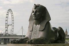 Auge der Sphinxes Stockfoto