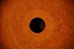 Auge der Ziegelsteine Stockbilder