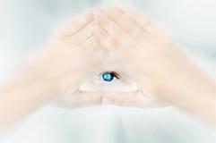 Auge des Gottes Stockbilder