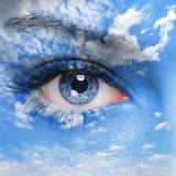 Auge des Gottes Lizenzfreie Stockfotos