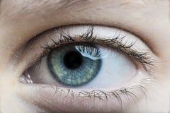 Auge des Kindes Stockfoto