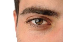Auge des Mannes Lizenzfreie Stockbilder