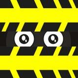 Auge des Spions stock abbildung