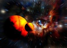 Auge des Universums Lizenzfreies Stockbild
