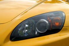 Auge eines Autos stockfotos