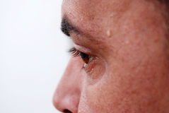 Auge eines Mannes Lizenzfreies Stockbild