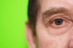 Auge im Abschluss oben Lizenzfreie Stockfotografie