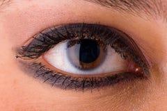 Auge nahes oben 1 Lizenzfreies Stockbild