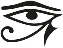 Auge von Horus Stockfoto