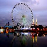 Auge von Malaysia Lizenzfreies Stockfoto