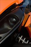 Auge von moto Lizenzfreie Stockbilder