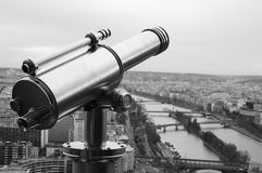 Auge von Paris stockfoto