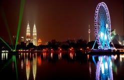 Augen auf Malaysian Stockfotografie