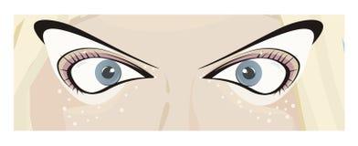 Augen der Frau Stockbilder