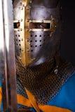 Augen des Ritters Lizenzfreies Stockfoto