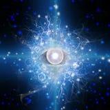 Augen-Design stockfoto