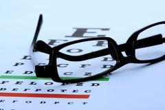 Augen-Diagramm Stockfotos