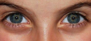 Augen eines Kindes lizenzfreie stockfotografie