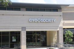 Augen-Gesellschafts-Schaufenster Lizenzfreie Stockbilder