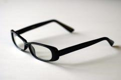 Augen-Gläser auf Weiß stockfotografie