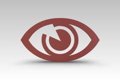 Augen-Ikone vektor abbildung